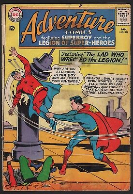 Adventure Comics #328 1965 Dc Silver Age Reader!