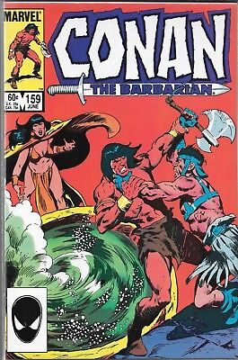 Conan The Barbarian #159 (Nm) High Grade Early Copper Age Marvel