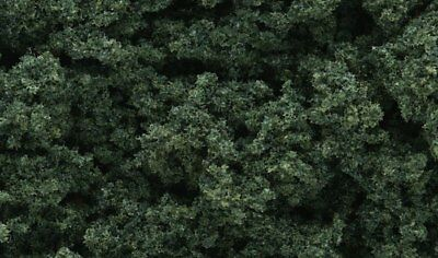 NEW Woodland Scenics FC184 Clump Foliage Dark Green Large Bag *SHIPS FREE*