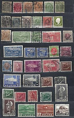 SWEDEN DENMARK ICELAND 1870's TO 1960's COLLECTION OF 207 CLASSICS & MODERN MINT