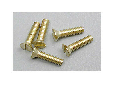 NEW Woodland Scenics H846 Flat Head Screws 0-80 1/4 (5pcs) *SHIPS FREE*