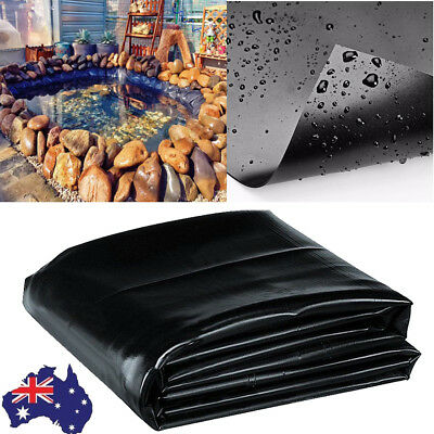 2018 Fish Pond Liner Gardens Pools PVC Membrane Reinforced Landscaping Muiltsize