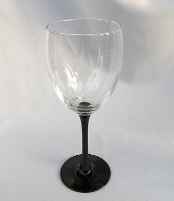 Cristal D'arques Durand Astra Water Goblet(S) Black
