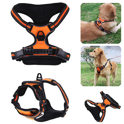 Large Pet Dog Walking Harness Outdoor Travel Exercise Training Chest Vest M,L,XL