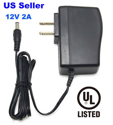 12V AC Adapter Power Supply Wall Charger For Yamaha keyboard PA150 YPG-225