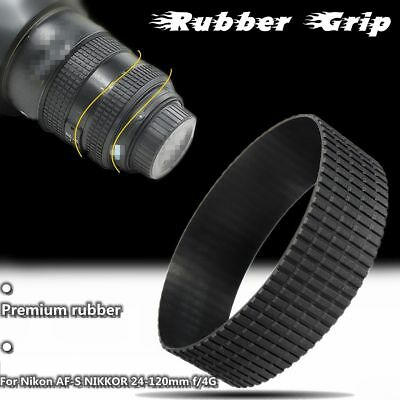Zoom Rubber Ring Grip Replacement For Nikon AF-S NIKKOR 24-120mm f/4G ED VR
