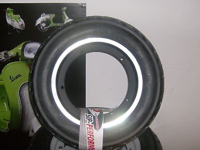 Vespa Px 125 Complete Tubeless Tyre And Rim