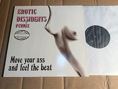 """Erotic Dissidents -Move Your Ass And Feel The Beat - Remix - 12""""-Maxi  (Di1454)"""