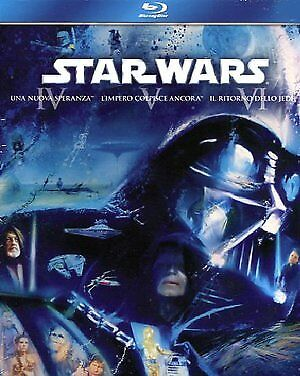 Star Wars Trilogy - Episodi 4-5-6  3 Blu-Ray  Cofanetto