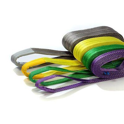 1 meter to 12 meter Duplex Tested webbing lifting sling 1 , 2 , 3 , 4 , 5 , 6ton
