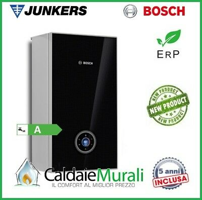 SCALDABAGNO A GAS JUNKERS BOSCH THERM 6000i SGWH 15-2  +KIT COASSIALE 15 LT NERO
