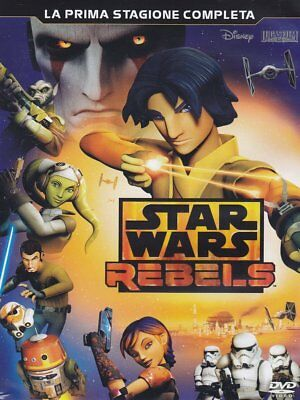 Dvd Star Wars - Rebels - Stagione 01 (3 Dvd)