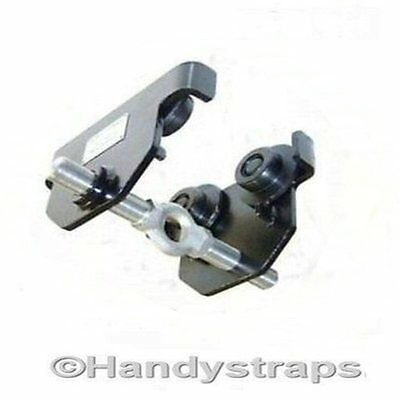 2 ton Adjustable Travel Push Trolley Beam Size WIDE 74mm-220mm