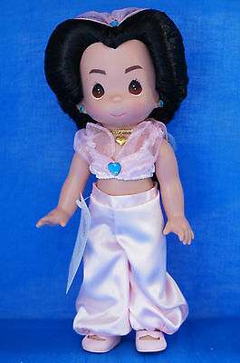 "Jasmine 12"" Doll Disney Precious Moments Precious in Pink 5215 Aladdin Signed"