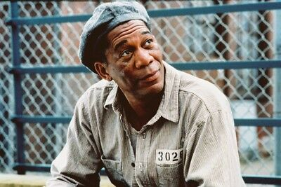 Morgan Freeman In The Shawshank Redemption 24X36 Poster Print