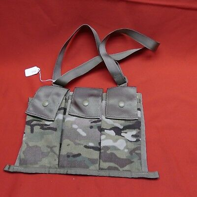 New Multicam OCP GI Genuine Bandoleer MOLLE Pouch, Made in USA