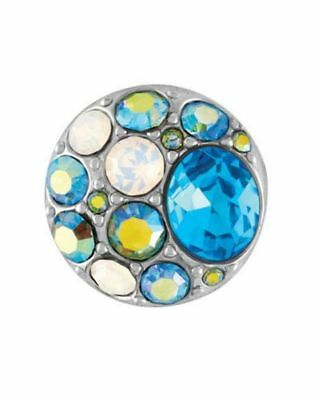 GINGER SNAPS™ BROOCH AQUA Jewelry - BUY 4, GET 5TH $6.95 SNAP FREE