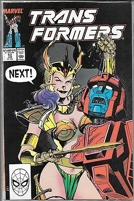Transformers #53 (Vf/nm) Copper Age Marvel