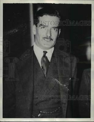 1936 Press Photo Anthony Eden Will Represent Great Britain in Diplomat Meeting