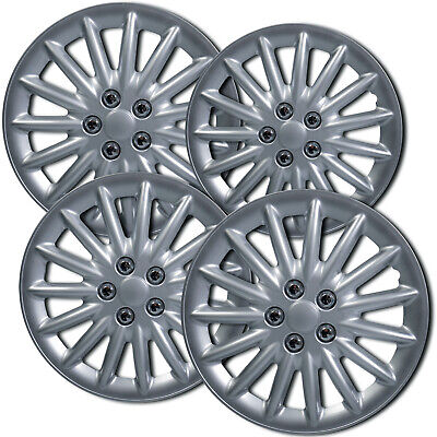 Hubcaps fits 13-16 Nissan Leaf - 16 Inch Silver Replacement Wheel Cover Rim