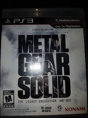 PS3 Metal Gear Solid: The Legacy Collection 1987-2012 |BRAND NEW Playstation 3