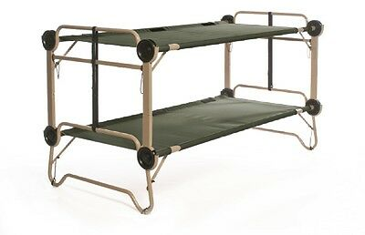 Arm-O-Bunk Outdoor Camping Double Field Cot Doppel Stock Bett US Army Feldbett