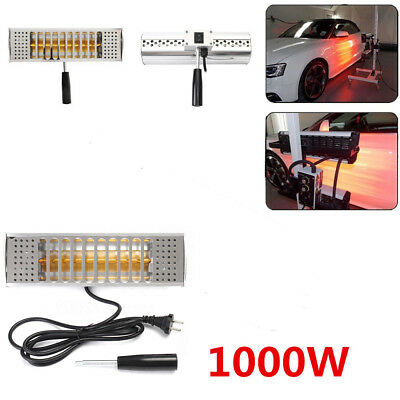 1000W Hand Held Infrared Curing Lamp Paint Curing Heating Lamp Body Shop Booth