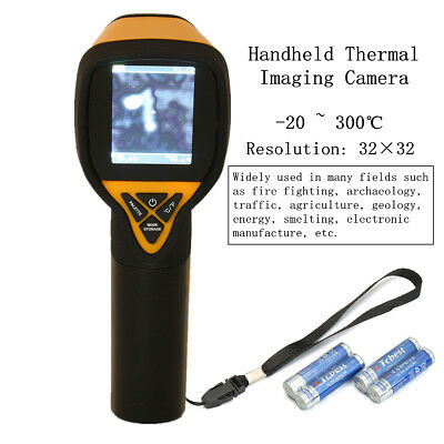 HT-175 1024 Imaging 32X32 Infrared Thermal Camera Temperature -20 to 300 Degree