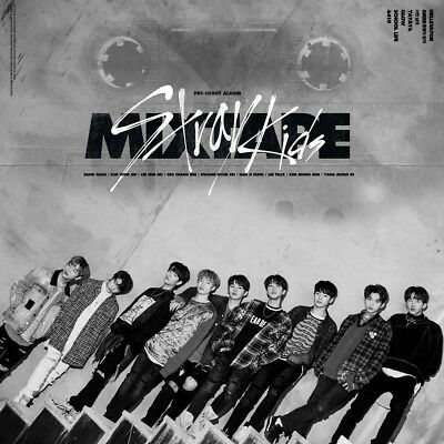 STRAY KIDS - Mixtape (Debut Album) CD+Pre-Order Benefit+Poster+Free Gift K-POP