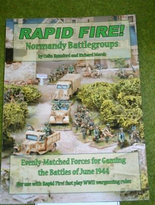 RAPID FIRE Normandy Battlegroups rules supplement – evenly matched gaming forces
