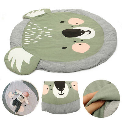 Household Cotton Baby Play Mat Crawling Carpet Blanket Floor Rug Out/Indoor Soft