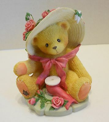 """1997 Cherished Teddies Janet """"You're Sweet As A Rose"""" 336521"""