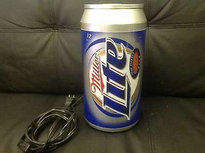 Miller lite vintage beer can light