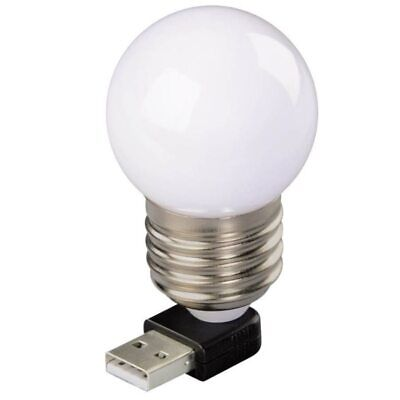 Hama USB LED Glühbirne Notebook-Licht Laptop LED-Lampe Leuchte Light Nachtlicht