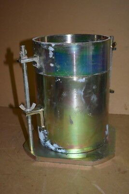 "Soil compaction mold, 6"", CBR, Perforated base, Cad plated, CN-450 ELE Unused"