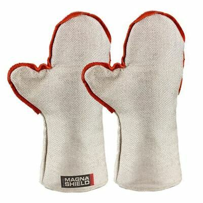 500 Degree Heat Shield MagnaShield Mitts 406mm E Glass Fibre OZZY SELLER