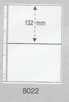 PRINZ PRO-FIL 2 STRIP CLEAR BANKNOTE PAGES Pack 15 Acid Free Sheets Ref No: 8022