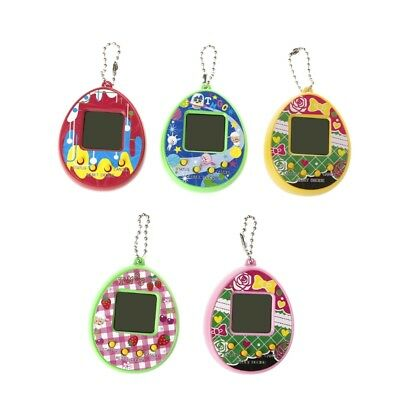 Virtual Digital Pet Egg Handheld Electronic Game Machine Toy With Keychain LCD