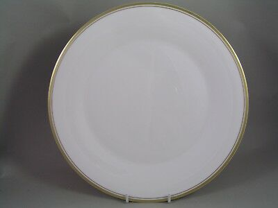 """ROYAL DOULTON GOLD CONCORD 10 5/8"""" DINNER PLATE, 2nd."""