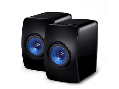kef ls50 wireless 2 wege aktiv lautsprecher bluetooth atpx schwarz paar eur. Black Bedroom Furniture Sets. Home Design Ideas