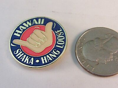 Hawaii Shaka Hang Loose Travel Pin