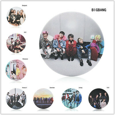 Kpop Seventeen BIGBANG Blackpink EXO MAMAMOO Monsta X Badge Brooches Chest Pin