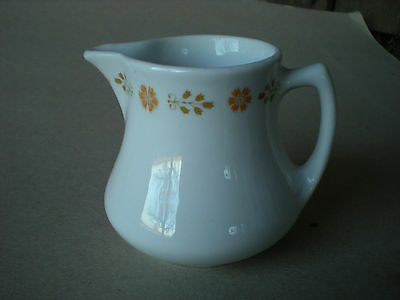 Shenango Restaurant Ware Creamer  Floral Border by Interpace USA