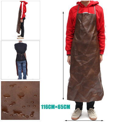 Leather Welding Apron Equipment Welder Heat Insulation Protection Apron Kitchen