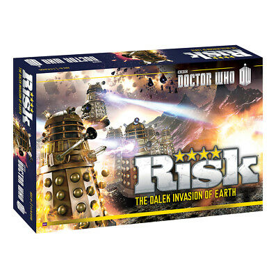 Doctor Who - Dalek Invasion Board Game NEW & SEALED