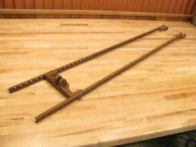 Antique Water Well Windmill Heller Aller Pump Jack Connecting Arms Rods