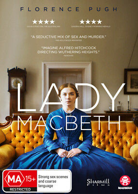 Lady Macbeth DVD R4 New!