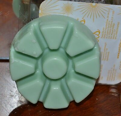 PARTYLITE CUCUMBER GINGER MINT wax scented melts tray SCENTS PLUS 40% discount