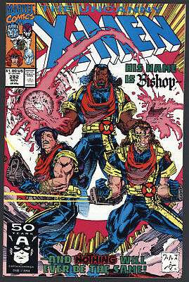 Uncanny X-Men #282 1st Appearance of Bishop Near Mint Marvel Comics 1991 CBX1D