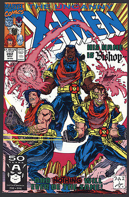 Uncanny X-Men #282 1st Appearance of Bishop Near Mint Marvel Comics 1991 CBX1D2